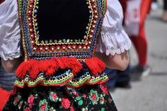 Traje popular polonês Fotografia de Stock Royalty Free