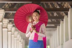 Traje tailandês das mulheres Imagem de Stock