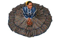 Traje tradicional de la chihuahua Foto de archivo