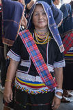 Traje tradicional del dusun de Kadazan Fotografía de archivo