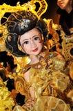 Traje tradicional indonesio Imagenes de archivo