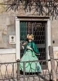 Traje veneciano Imagen de archivo libre de regalías