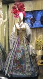 Traje veneciano Foto de archivo