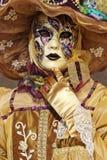 Traje Venetian Fotografia de Stock Royalty Free