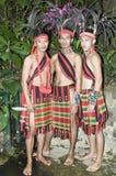 Trajes étnicos dos povos Imagem de Stock