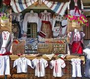 Trajes campesinos tradicionales foto de archivo