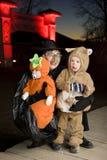 Trajes de Halloween Fotografia de Stock