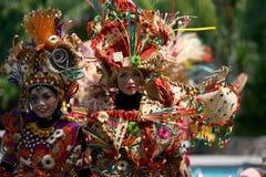 Trajes del carnaval Foto de archivo libre de regalías