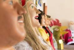 Trajes do festival do carnaval Fotos de Stock Royalty Free