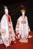 Trajes hermosos en el festival del Oriente en Roma Italia imagen de archivo libre de regalías