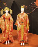 Trajes hermosos en el festival del Oriente en Roma Italia fotos de archivo libres de regalías