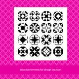 Trajes para el logotipo o los modelos de marcado en caliente Elementos abstractos para el desig stock de ilustración