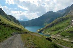 Trajeto ao lago Imagem de Stock Royalty Free