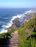 Trajeto ao mar Fotografia de Stock
