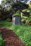 Trajeto ao outhouse Foto de Stock
