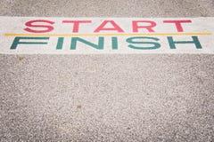 Trajeto ao sucesso e ao futuro, trajeto ao sucesso e a estrada futura Foto de Stock Royalty Free