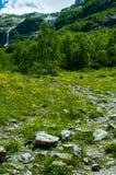 Trajeto da montanha Fotografia de Stock Royalty Free