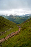 Trajeto da montanha de Scotland Fotos de Stock