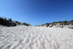 Trajeto da praia fotos de stock