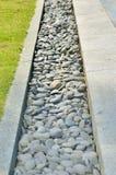 Trajeto das pedras lustradas pelo mar Imagens de Stock Royalty Free