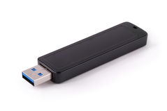 Trajeto de grampeamento da vara da memória de USB Imagens de Stock Royalty Free