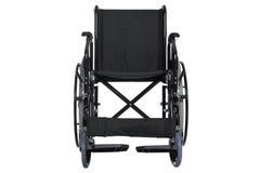 Trajeto de grampeamento isolado cadeira de rodas Foto de Stock Royalty Free
