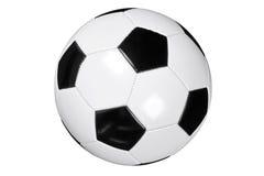 Trajeto de grampeamento isolado futebol Fotografia de Stock Royalty Free