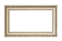 Trajeto de grampeamento isolado vazio do frame de retrato imagens de stock