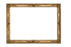 Trajeto de grampeamento isolado vazio do frame de retrato fotos de stock royalty free