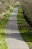 Trajeto de linha de laço de Fallowfield, de ciclismo e de passeio colocado no ra velho Imagem de Stock Royalty Free