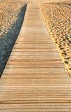 Trajeto de madeira Fotos de Stock