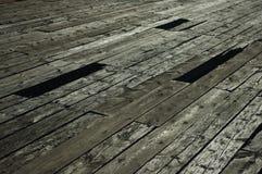 Trajeto de madeira velho Foto de Stock