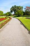 Trajeto de passeio no jardim do parque de Suan Luang Rama 9, Tailândia Fotografia de Stock Royalty Free