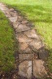 Trajeto de pedra Foto de Stock