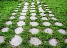 Trajeto de pedra do jardim Foto de Stock