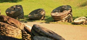 Trajeto de pedra do moinho Fotos de Stock