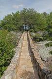 Trajeto de pedra na distância Imagens de Stock