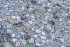Trajeto de pedra que conduz a um forte histórico da guerra civil Imagens de Stock