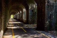 Trajeto do ciclo de Alpe Adria, Itália fotos de stock royalty free