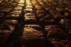 Trajeto do Cobblestone Imagem de Stock
