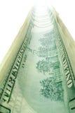 Trajeto do dinheiro Foto de Stock
