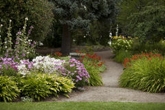 Trajeto do jardim Imagem de Stock