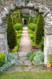 Trajeto do jardim fotos de stock royalty free