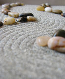 Trajeto do jardim do zen Foto de Stock