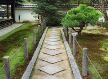Trajeto japonês Fotos de Stock Royalty Free
