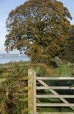 Trajeto litoral ocidental de Gales Fotografia de Stock