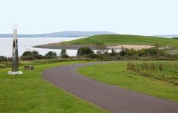 Trajeto litoral Wales do milênio fotografia de stock royalty free