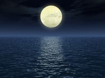 Trajeto lunar Foto de Stock
