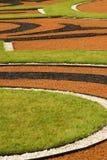 Trajeto ornamentado do jardim em Rússia Imagens de Stock Royalty Free