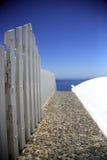 Trajeto para fora ao mar fotos de stock